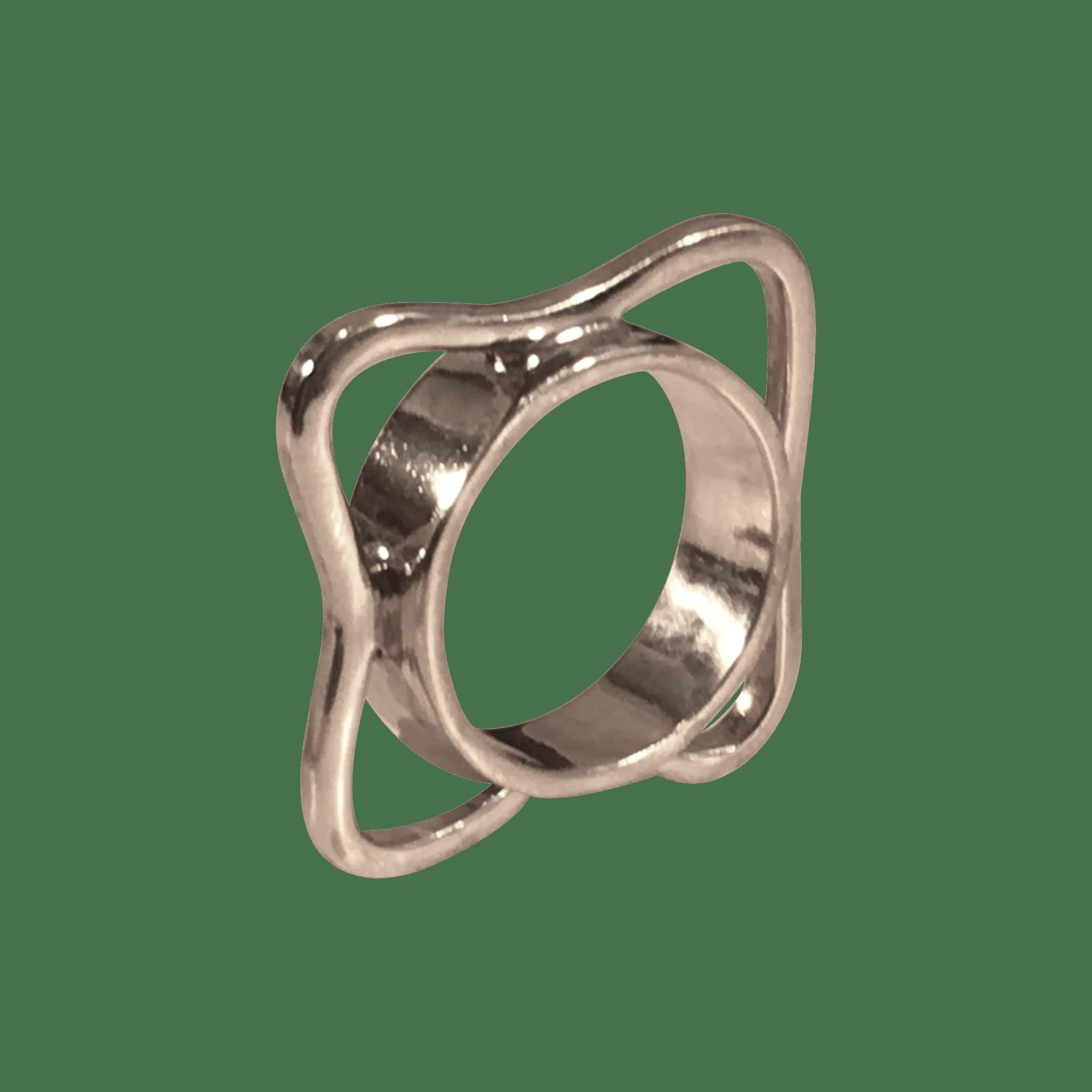 Pernille Müller - KANT ring i sølv. KANT ring in silver