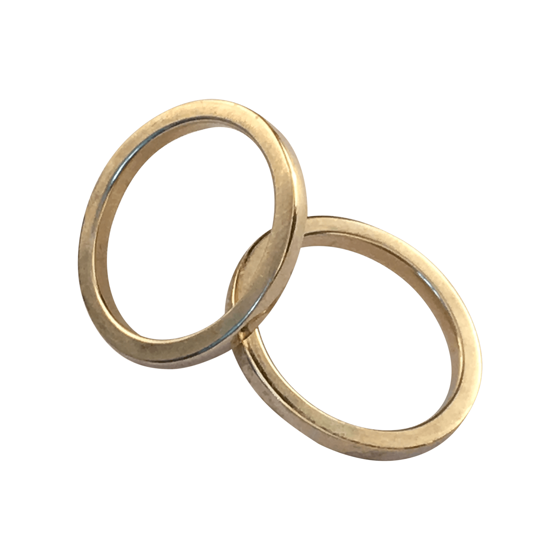 FIKS Side Bands in 14 Carat Gold. Side bands are often worn with ...