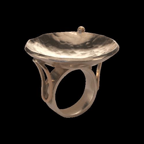 Pernille Müller - FRODIG ring i sølv. FRODIG ring in silver
