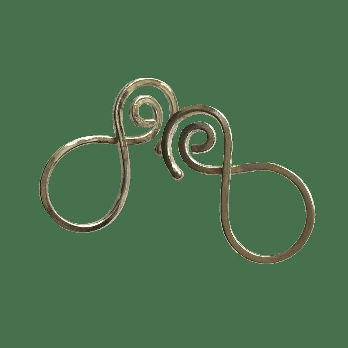 Pernille Müller - SNILD øreringe i sterling sølv
