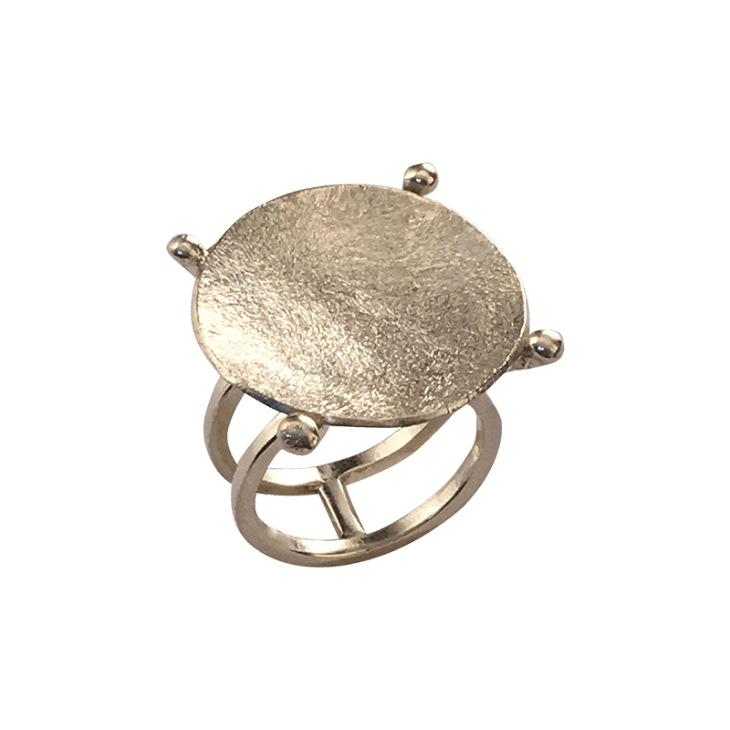 Pernille Müller – YPPIG – ring i sølv 2