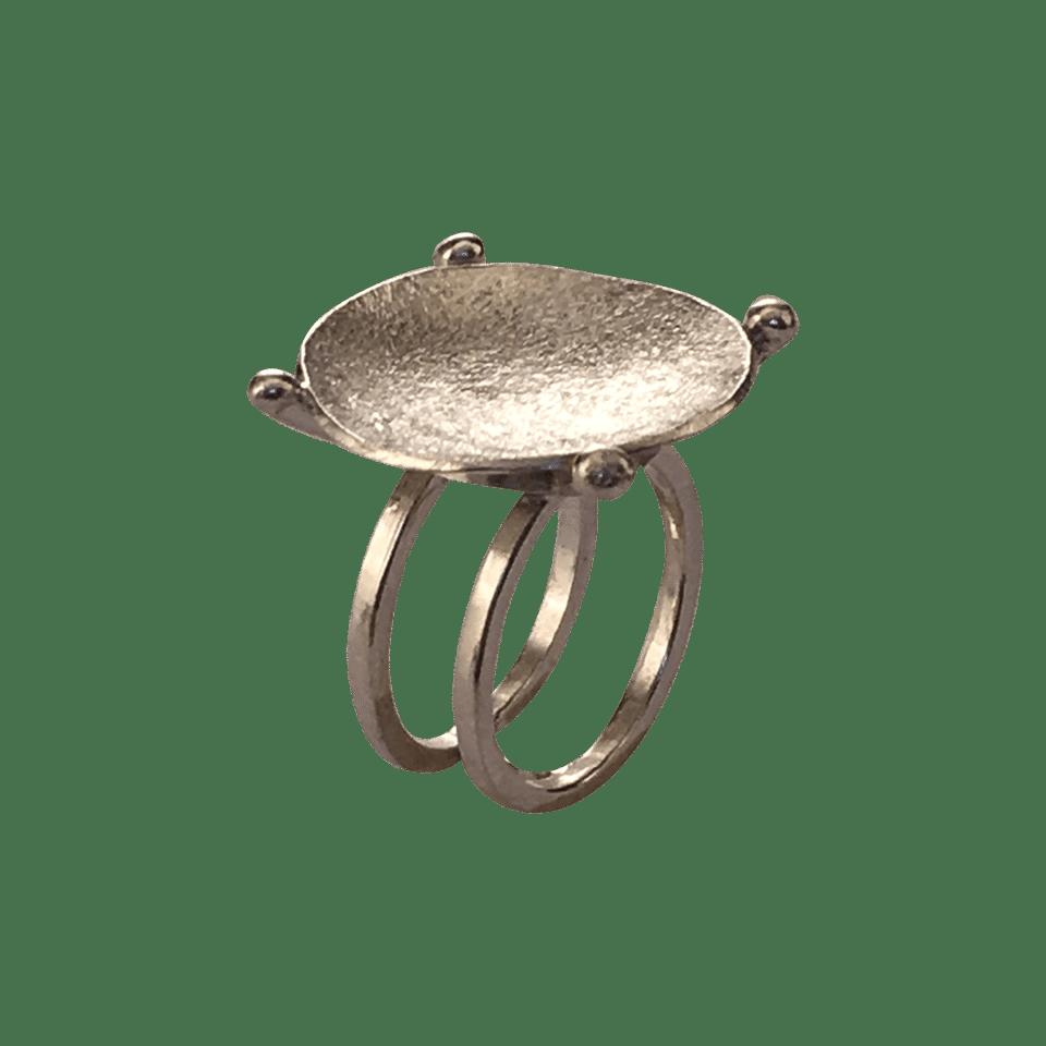 Pernille Müller – YPPIG – ring i sølv 4