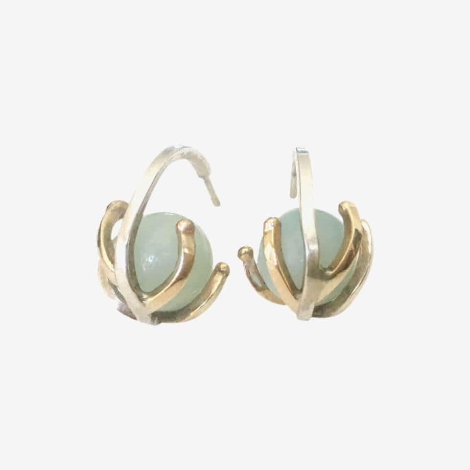 KULØR – øreringe med amazonit