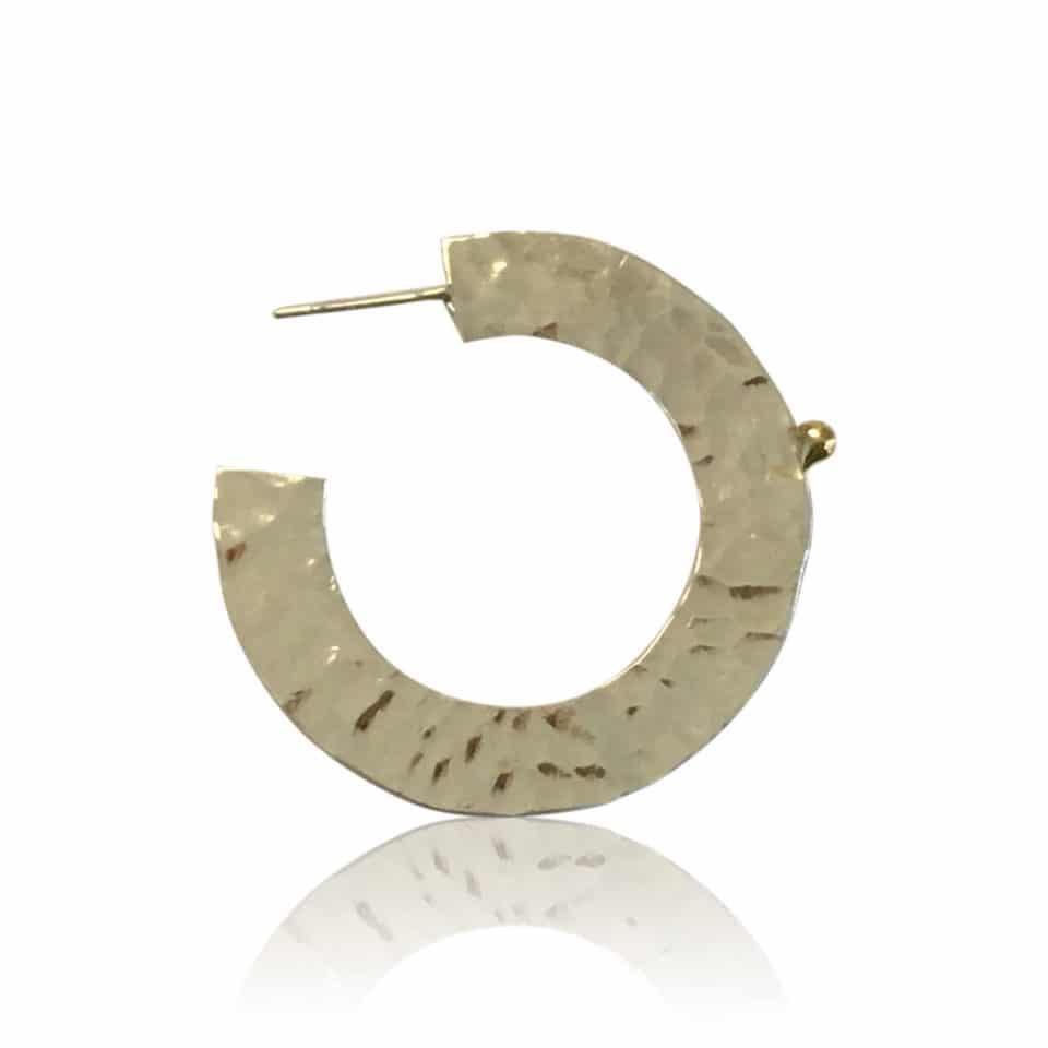 FRODIG creoler øreringe i sølv 4