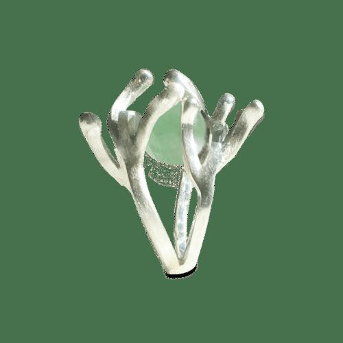 Pernille Müller - sølvring med udskiftelige kugler