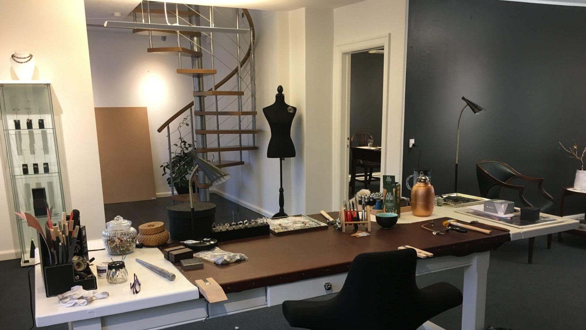 Pernille Müller - Showroom og værksted